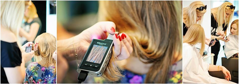USG włosa i skóry głowy